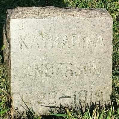 ANDERSON, KATHARINE - Hamlin County, South Dakota | KATHARINE ANDERSON - South Dakota Gravestone Photos