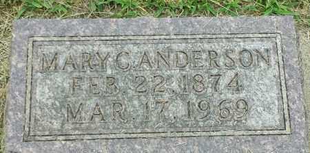 ANDERSON, MARY C - Hamlin County, South Dakota | MARY C ANDERSON - South Dakota Gravestone Photos