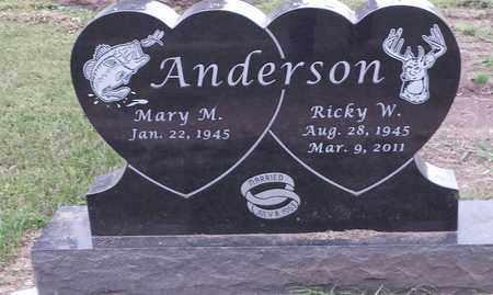ANDERSON, MARY M - Hamlin County, South Dakota | MARY M ANDERSON - South Dakota Gravestone Photos