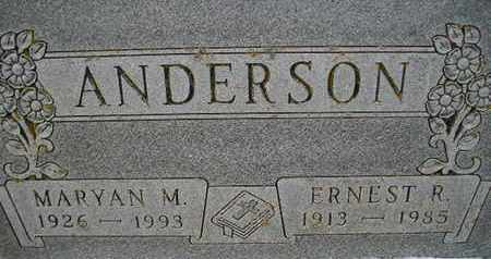 ANDERSON, MARYAN M - Hamlin County, South Dakota | MARYAN M ANDERSON - South Dakota Gravestone Photos