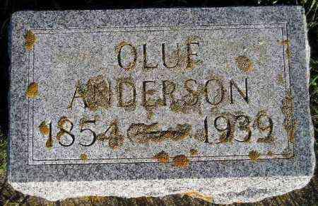 ANDERSON, OLUF - Hamlin County, South Dakota | OLUF ANDERSON - South Dakota Gravestone Photos
