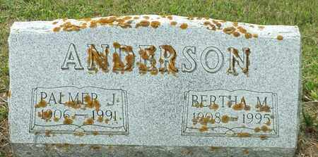 ANDERSON, PALMER J - Hamlin County, South Dakota | PALMER J ANDERSON - South Dakota Gravestone Photos