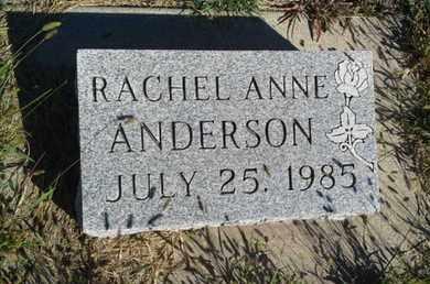 ANDERSON, RACHEL ANNE - Hamlin County, South Dakota | RACHEL ANNE ANDERSON - South Dakota Gravestone Photos