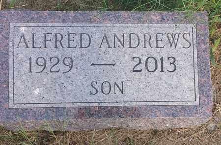 ANDREWS, ALFRED - Hamlin County, South Dakota   ALFRED ANDREWS - South Dakota Gravestone Photos