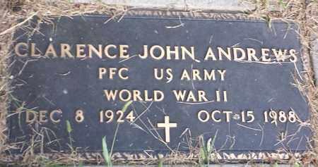 """ANDREWS, CLARENCE JOHN """"MILITARY"""" - Hamlin County, South Dakota   CLARENCE JOHN """"MILITARY"""" ANDREWS - South Dakota Gravestone Photos"""