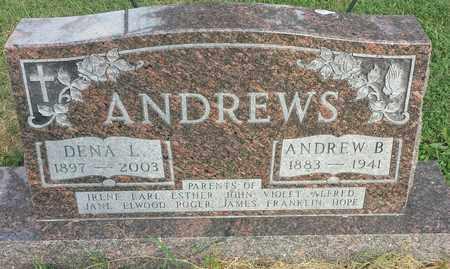 ANDREWS, DENA L - Hamlin County, South Dakota | DENA L ANDREWS - South Dakota Gravestone Photos