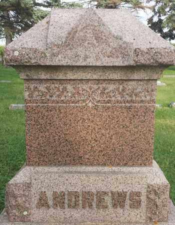 ANDREWS, FAMILY STONE - Hamlin County, South Dakota   FAMILY STONE ANDREWS - South Dakota Gravestone Photos