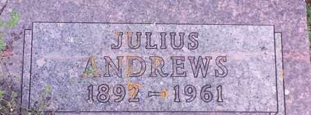 ANDREWS, JULIUS - Hamlin County, South Dakota   JULIUS ANDREWS - South Dakota Gravestone Photos