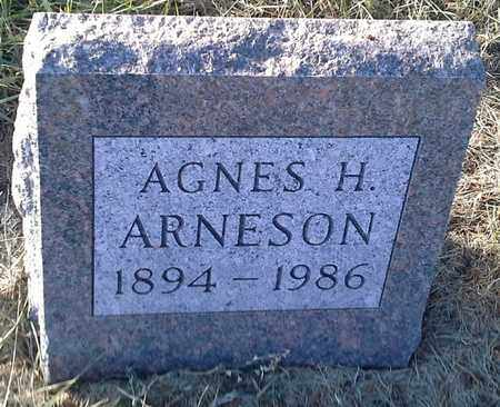 ARNESON, AGNES H - Hamlin County, South Dakota | AGNES H ARNESON - South Dakota Gravestone Photos