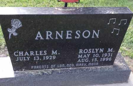 ARNESON, ROSLYN M - Hamlin County, South Dakota   ROSLYN M ARNESON - South Dakota Gravestone Photos