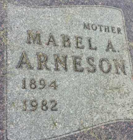 ARNESON, MABLE A - Hamlin County, South Dakota | MABLE A ARNESON - South Dakota Gravestone Photos