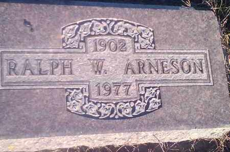 ARNESON, RALPH W - Hamlin County, South Dakota | RALPH W ARNESON - South Dakota Gravestone Photos