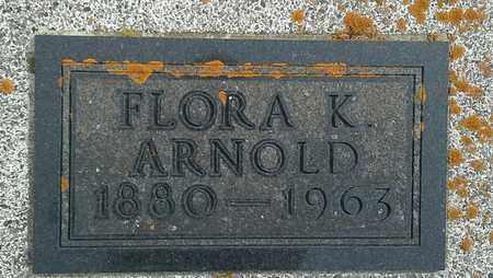 ARNOLD, FLORA K - Hamlin County, South Dakota | FLORA K ARNOLD - South Dakota Gravestone Photos
