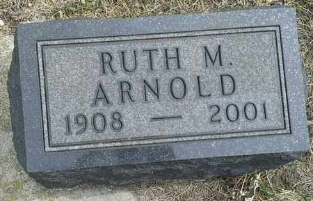 ARNOLD, RUTH M - Hamlin County, South Dakota | RUTH M ARNOLD - South Dakota Gravestone Photos