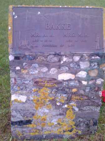 BAKKE, ANDREW H - Hamlin County, South Dakota   ANDREW H BAKKE - South Dakota Gravestone Photos