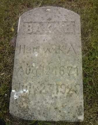 BAKKE, HARTWIK A - Hamlin County, South Dakota | HARTWIK A BAKKE - South Dakota Gravestone Photos