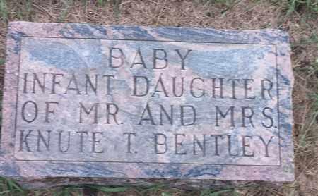 BENTLEY, INFANT DAUGHTER - Hamlin County, South Dakota   INFANT DAUGHTER BENTLEY - South Dakota Gravestone Photos