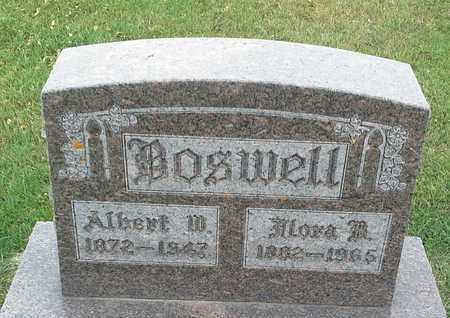 BOSWELL, FLORA B - Hamlin County, South Dakota | FLORA B BOSWELL - South Dakota Gravestone Photos