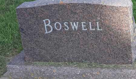 BOSWELL, FAMILY STONE - Hamlin County, South Dakota | FAMILY STONE BOSWELL - South Dakota Gravestone Photos