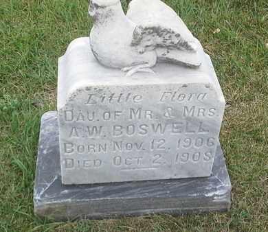 BOSWELL, FLORA - Hamlin County, South Dakota | FLORA BOSWELL - South Dakota Gravestone Photos