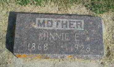 BOSWELL, MINNIE E - Hamlin County, South Dakota | MINNIE E BOSWELL - South Dakota Gravestone Photos