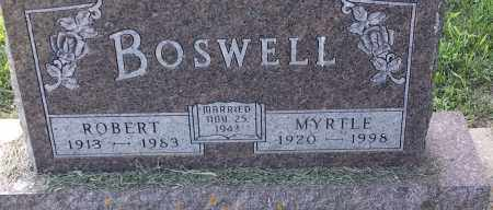 BOSWELL, ROBERT - Hamlin County, South Dakota | ROBERT BOSWELL - South Dakota Gravestone Photos
