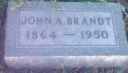 BRANDT, JOHN A - Hamlin County, South Dakota | JOHN A BRANDT - South Dakota Gravestone Photos