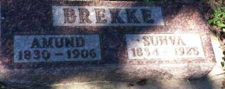 BREKKE, SUNVA - Hamlin County, South Dakota | SUNVA BREKKE - South Dakota Gravestone Photos