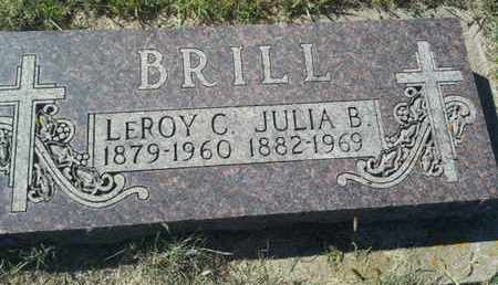 BRILL, LEROY C - Hamlin County, South Dakota | LEROY C BRILL - South Dakota Gravestone Photos