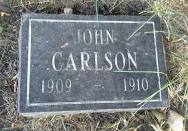 CARLSON, JOHN - Hamlin County, South Dakota | JOHN CARLSON - South Dakota Gravestone Photos