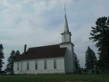 **CHURCH, VIEW OF - Hamlin County, South Dakota   VIEW OF **CHURCH - South Dakota Gravestone Photos