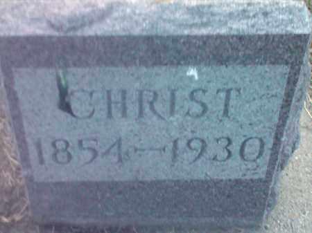 COOK, CHRIST - Hamlin County, South Dakota   CHRIST COOK - South Dakota Gravestone Photos