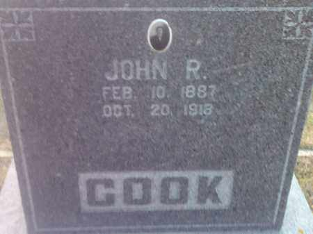 COOK, JOHN R - Hamlin County, South Dakota   JOHN R COOK - South Dakota Gravestone Photos