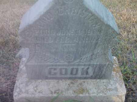 COOK, LOID CHRISTIAN - Hamlin County, South Dakota | LOID CHRISTIAN COOK - South Dakota Gravestone Photos