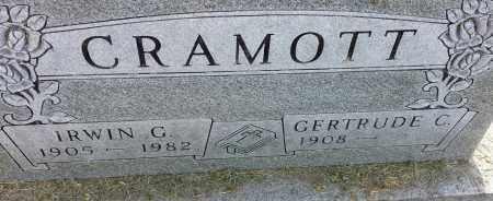 CRAMOTT, GERTRUDE C - Hamlin County, South Dakota | GERTRUDE C CRAMOTT - South Dakota Gravestone Photos