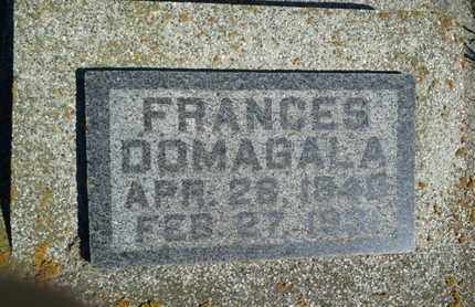 DOMAGALA, FRANCES - Hamlin County, South Dakota | FRANCES DOMAGALA - South Dakota Gravestone Photos