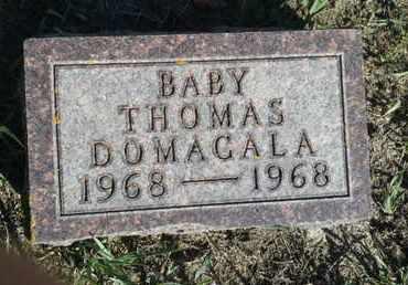 DOMAGALA, THOMAS - Hamlin County, South Dakota | THOMAS DOMAGALA - South Dakota Gravestone Photos