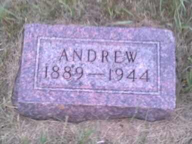 FEDT, ANDREW - Hamlin County, South Dakota   ANDREW FEDT - South Dakota Gravestone Photos