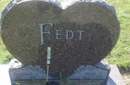 FEDT, HILDA D - Hamlin County, South Dakota | HILDA D FEDT - South Dakota Gravestone Photos