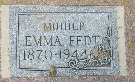 FEDT, EMMA - Hamlin County, South Dakota | EMMA FEDT - South Dakota Gravestone Photos