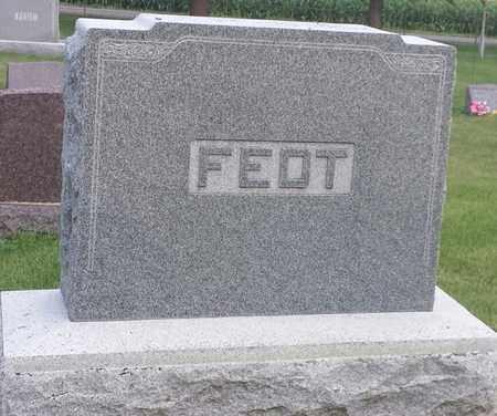 FEDT, FAMILY STONE - Hamlin County, South Dakota | FAMILY STONE FEDT - South Dakota Gravestone Photos