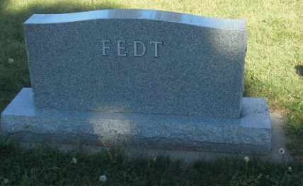 FEDT, FAMILY STONE - Hamlin County, South Dakota | FAMILY STONE FEDT - South Dakota Gravestone Photos