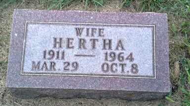 FEDT, HERTHA - Hamlin County, South Dakota | HERTHA FEDT - South Dakota Gravestone Photos