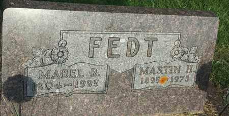 FEDT, MARTIN H - Hamlin County, South Dakota | MARTIN H FEDT - South Dakota Gravestone Photos