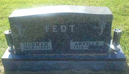 FEDT, NORMAN - Hamlin County, South Dakota | NORMAN FEDT - South Dakota Gravestone Photos