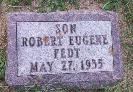 FEDT, ROBERT EUGENE - Hamlin County, South Dakota | ROBERT EUGENE FEDT - South Dakota Gravestone Photos