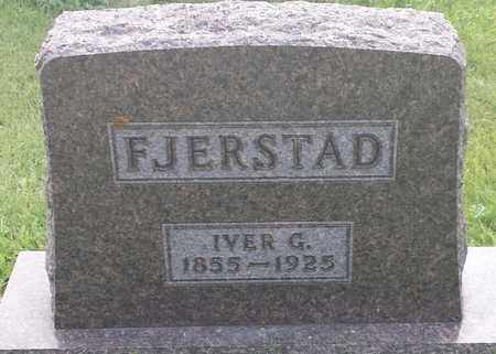 FJERSTAD, IVER G - Hamlin County, South Dakota | IVER G FJERSTAD - South Dakota Gravestone Photos