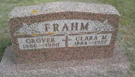 FRAHM, GROVER - Hamlin County, South Dakota | GROVER FRAHM - South Dakota Gravestone Photos