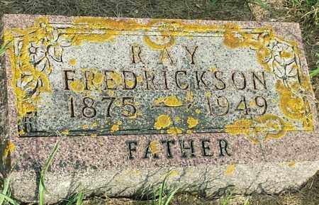 FREDRICKSON, RAY - Hamlin County, South Dakota | RAY FREDRICKSON - South Dakota Gravestone Photos