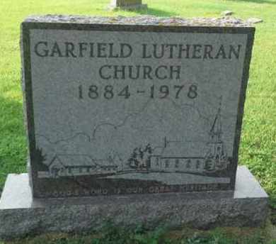 ***GARFIELD, MONUMENT - Hamlin County, South Dakota   MONUMENT ***GARFIELD - South Dakota Gravestone Photos
